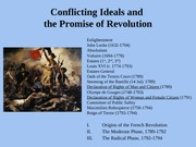 Conflicting Ideals and the Promise of Revolution