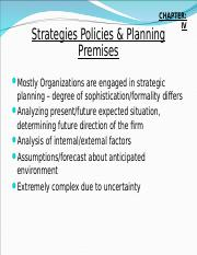 Ch-4 Strategies Policies