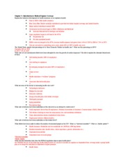 Exam II Review Sheet RMI 330