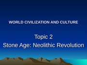 02 Neolithic period