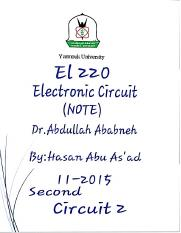Circuit2..Second