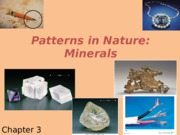 Chapter 3: Minerals