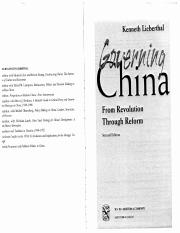 Kenneth Lieberthal-Governing_china