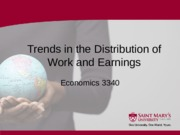 5 Section Five - Trends in the Distribution of Work and Earnings - 2016 01.ppt