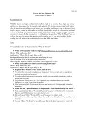 phil 201 study guide lesson 4