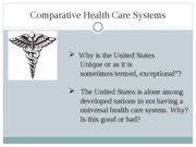 Health Systems - Health Systems