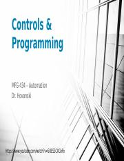 MFG 434 - Controls and Programming.pptx