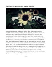Example 02 - Sunflowers And Mirrors - Jason Harding.pdf