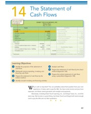 CHAPTER 14 The Statement of Cash Flows