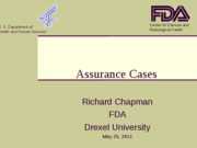 Lecture 9_Assurance_Cases