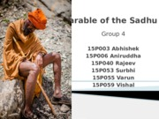 Parable of the Sadhu