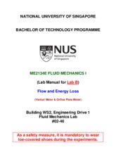 ME2134E_Lab_B_Manual_(Flow and Energy Loss)