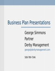 How_to_Present_Your_Business_Plan.ppt