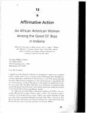 12 Affirmative Action An African American Woman Among the Good Ol Boys in Indiana (2)