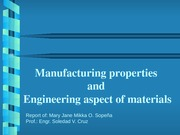 5.Manufacturing properties and Engineering aspect of materials(Sopeña)
