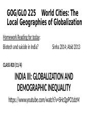 Class #20 India III Short Version 110414