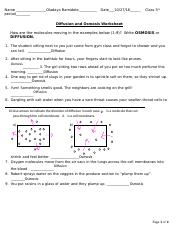Equal amount of water inside a cell as outsideg certain place 21 ...
