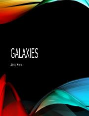 Galaxies Project