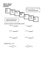 Metric-convesions-w-keys.pdf - Metric Mania Conversion ...