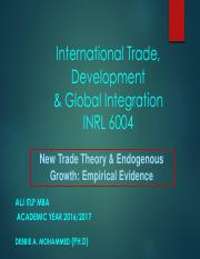 2016-2017 3-Trade Policy   Endogenous Growth