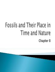 Lecture 8 - Chapter 8 - Fossils.ppt