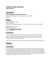 COURSE OUTLINE-INTL 2200B-FALL 2011
