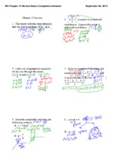 Unit 1 Review Answers