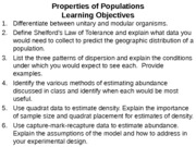 Lecture 7 Properties of Populations post