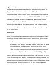 Compare And Contrast Essay Papers Week  Essay Daoism Taoism  Origin Of All Things First It Is Important  To Understand That Daoism And Taoism Are The Same Religion But Different Research Papers Examples Essays also Essays About Health Week  Essay Daoism Taoism  Origin Of All Things First It Is  High School Graduation Essay