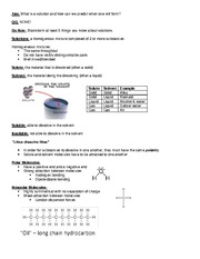 01 Notes - Intro to Solutions