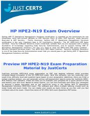 HPE2-N19 HPE Sales Certified - Security Software Solutions [2017] Exam Questions