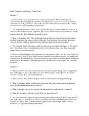 Study Questions for Chapter 7 and 8 Quiz.docx