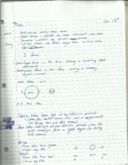Oceanography Tides Notes