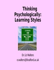 L7 - Learning Styles(1).ppt