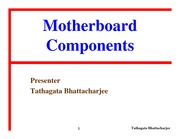 13-Motherboard Components