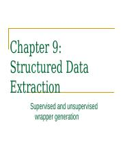 CS583-structured-data-extraction.ppt