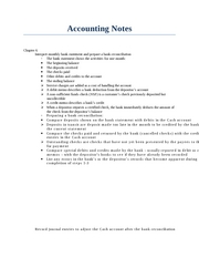 Accounting Notes Ch.6