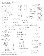 Physics 250 Formula Sheet.pdf