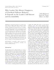 (HCD) Why leaders not always disapprove unethial follower behavior.pdf