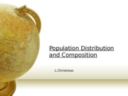 05.Population distribution