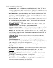 Ch. 13 Study Guide