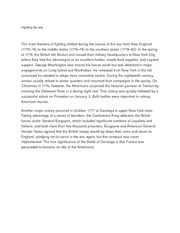 Fighting the war