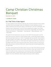 Camp Christian Christmas Banquet.docx