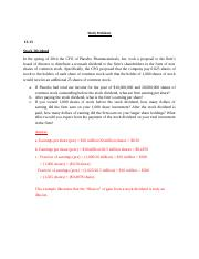 Study Problems chapter 11