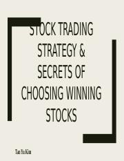 Stock-Trading-Strategy-Methods-To-Choose-Winning