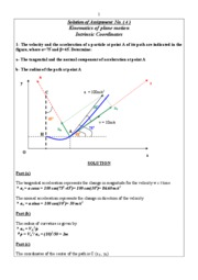 Solution of Assignment No. ( 4 )