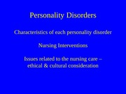 personality disorder+cognitive dis+eating+sp pop