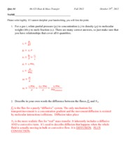 Quiz 4 with solutions