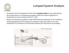 8 - Conduction - transient, 0D, lumped system.pdf