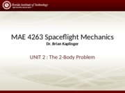 Lecture - Two Body Problem
